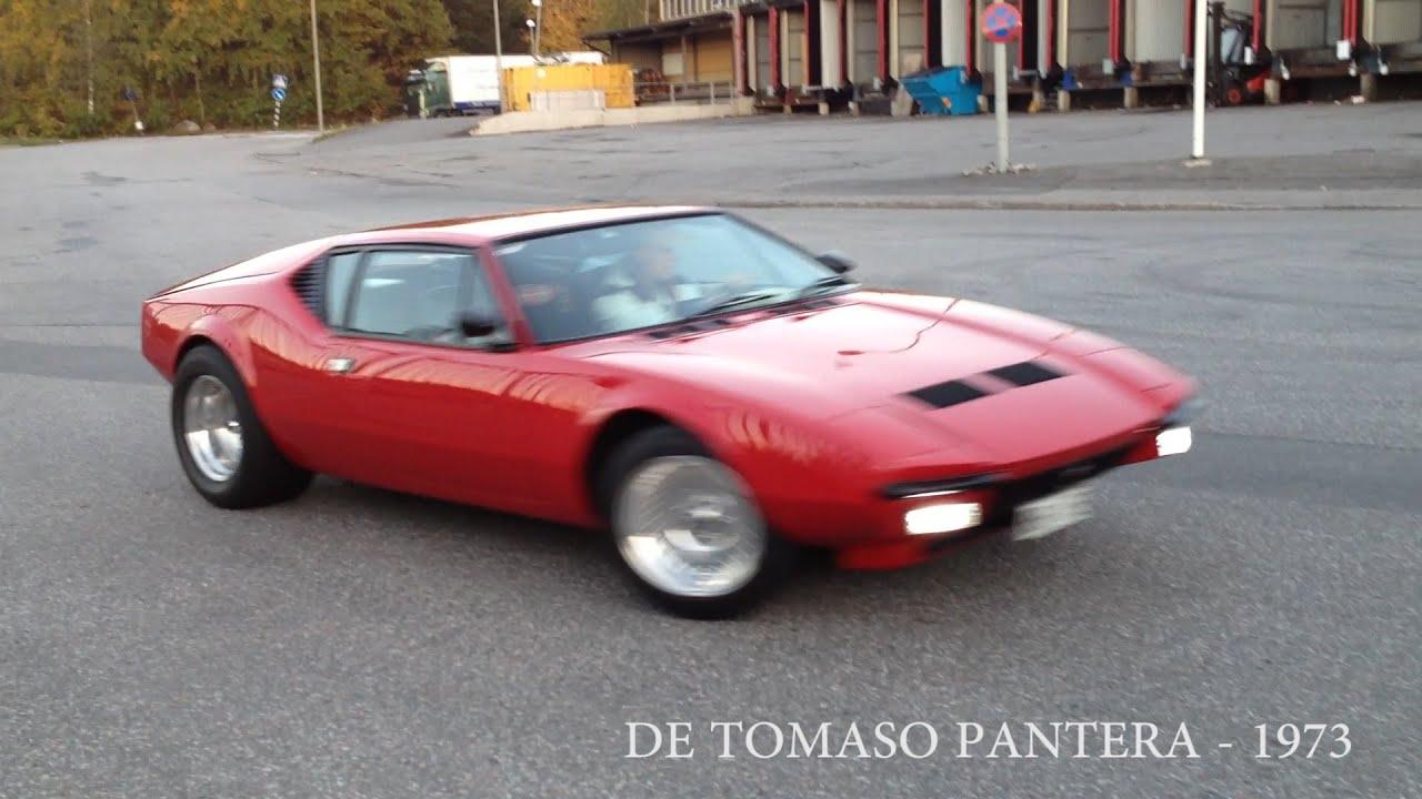 DE TOMASO PANTERA  1973  YouTube