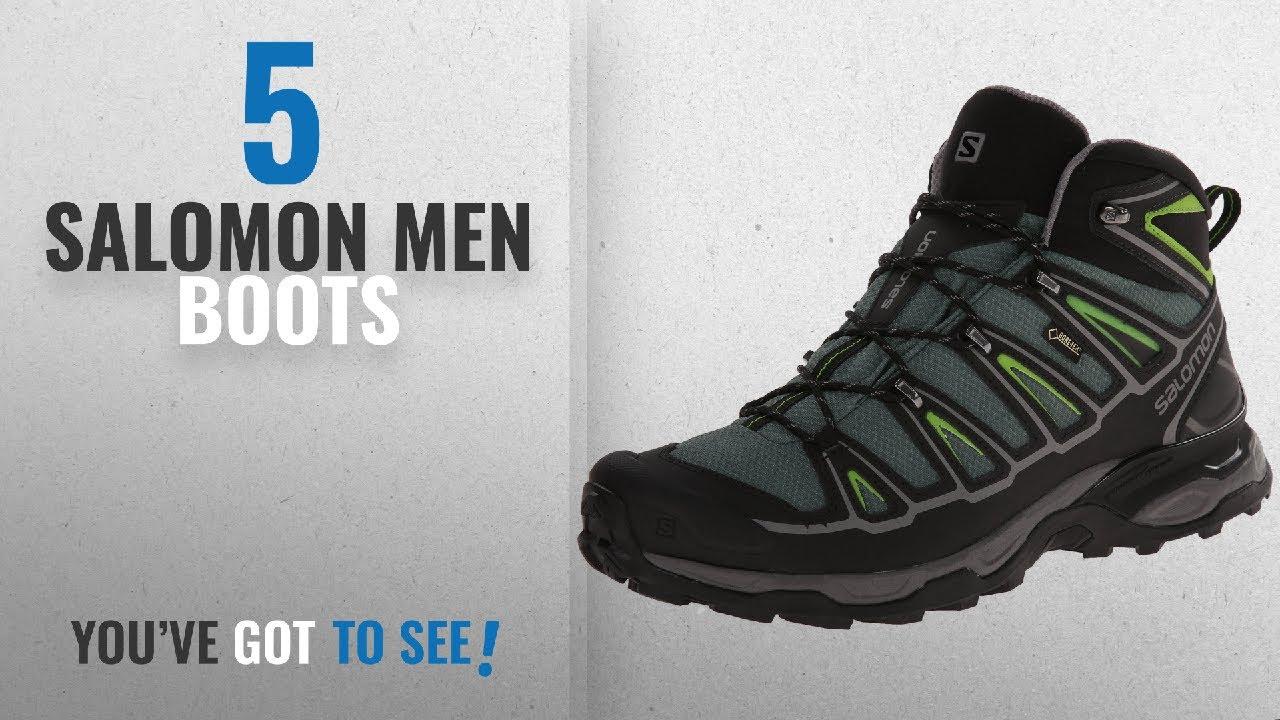 promo code 3a50e 2d5af Top 10 Salomon Men Boots [ Winter 2018 ]: Salomon Men's X Ultra Mid 2 GTX  Multifunctional Hiking