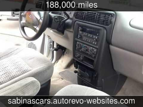 2003 Chevrolet Venture w/1SA Pkg Used Cars - Houston,TX - 2013-09-27