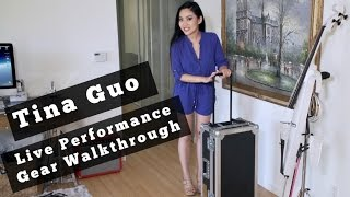Tina Guo Cello Effects Pedals & Gear Demo