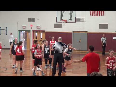 Shippensburg Area Youth Basketball  Mystics vs Stars
