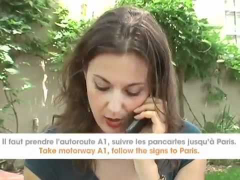 Free French Video - French Directions Language Dialogue Video