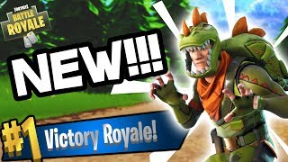 EPIC KILLS WITH NEW T-REX SKIN ON FORTNITE!!! - Fortnite Battle Royale