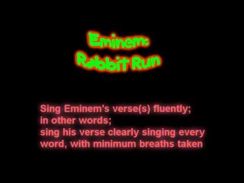 Eminem: Rabbit Run CHALLENGE