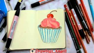 Who stole my drawing Cupcake animation