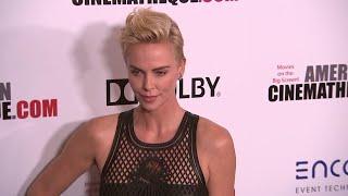 Charlize Theron honored