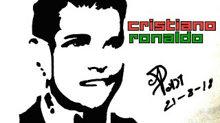 Speed Art - Drawing Cristiano Ronaldo