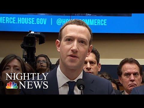 Mark Zuckerberg Admits His Data Harvested By Cambridge Analytica | NBC Nightly News