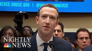 Mark Zuckerberg Admits His Data Harvested By Cambridge Analytica | NBC Nightly News