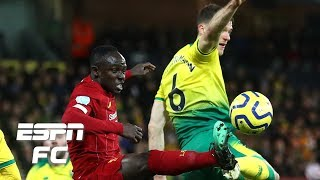 Did Sadio Man foul Christoph Zimmermann for Liverpools winner vs Norwich  Premier League