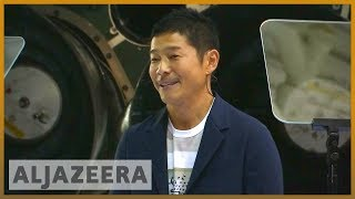 🚀 Meet Yusaku Maezawa, first SpaceX moon tourist | Al Jazeera English