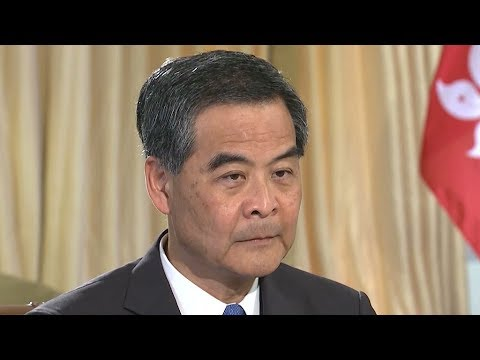 HK Chief Executive Leung Chun-ying discusses issues of greatest concern for the Region's society