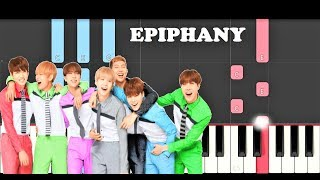 BTS - Epiphany (MEDIUM Piano Tutorial)