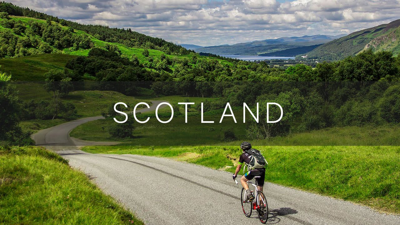 Scotland Bike Tour Duvine Cycling Adventure Co Youtube