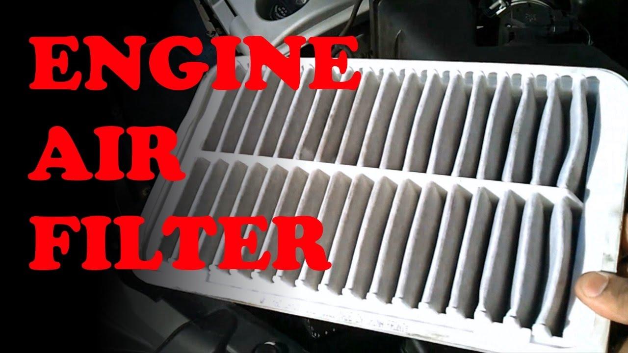 engine air filter replacement toyota lexus [ 1280 x 720 Pixel ]