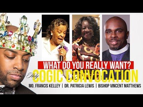 LIVE🚨🔥 Petty Empty Seats/COGIC Convocation/Francis Kelley/Patricia Lewis /Vincent Matthews