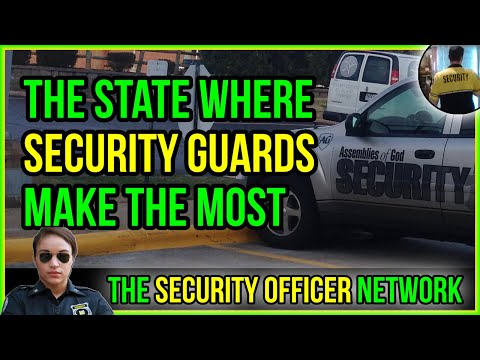 The State That Pays Security Guards The Best
