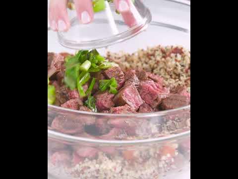 Big Batch Quinoa Taco Salad | Cooking Light