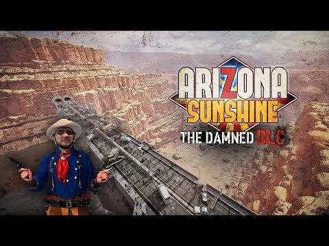 [18+] Шон играет в Arizona Sunshine The Damned DLC (PCVR/VIVE 2016)