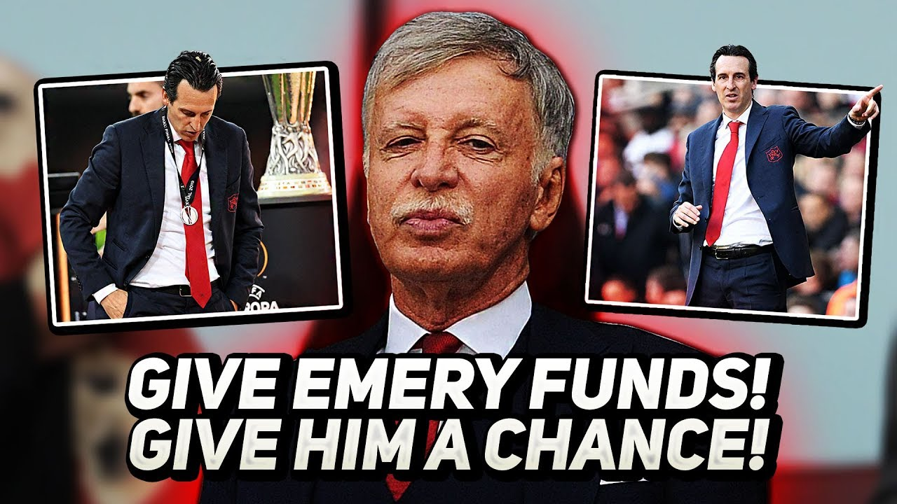 A Message To Stan Kroenke - GIVE EMERY FUNDS, GIVE HIM A CHANCE!
