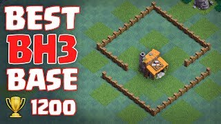 BEST BH3 BASE - ANTI 3 STAR 🏆 Epic Builder Hall 3 Anti Giant Base with Replays - Clash of Clans