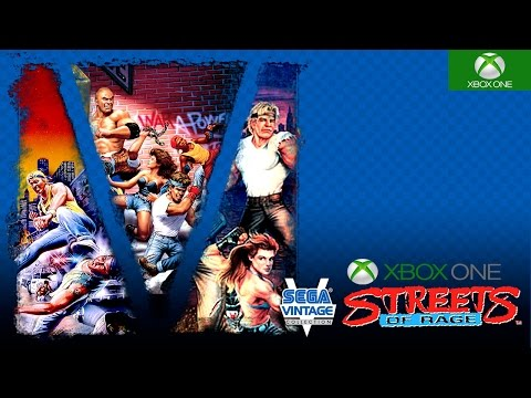 Sega Vintage Collection: Streets of Rage Xbox One Backwards Compatible Gameplay HD 1080P