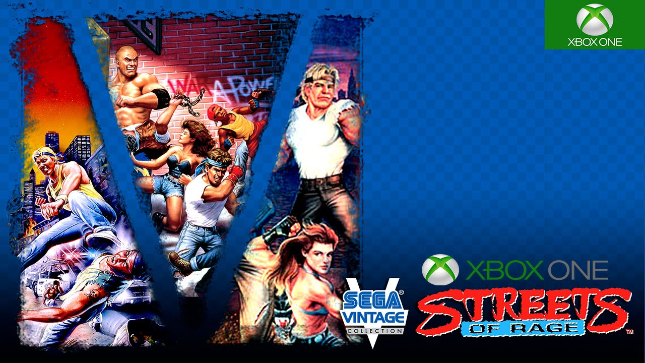 Image result for sega vintage collection streets of rage xbox one