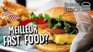 LE MEILLEUR FAST FOOD DE NEW YORK ?! Dégustation du Shake Shack Burger avec Jiraya