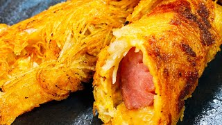 クリスピーポテトチーズドッグ|こっタソの自由気ままに【Kottaso Recipe】さんのレシピ書き起こし