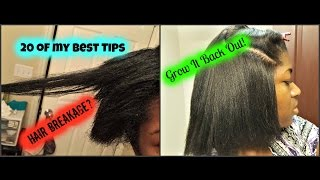 20 Tips | Grow Your Hair Faster, Healthier, and Longer