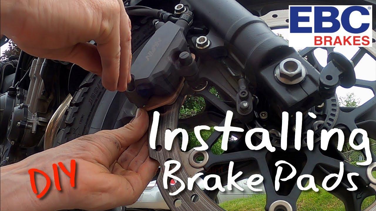 Motorcycle Brake Pad Change 2019 Honda CB500X   Oregon Motorcycle 2020 #brakepads #DIY