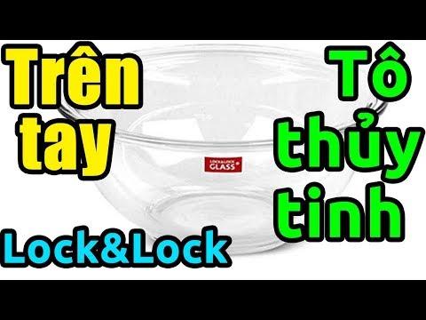 Hàng 0đ Tiki về - Review bộ 3 tô thủy tinh Lock&Lock