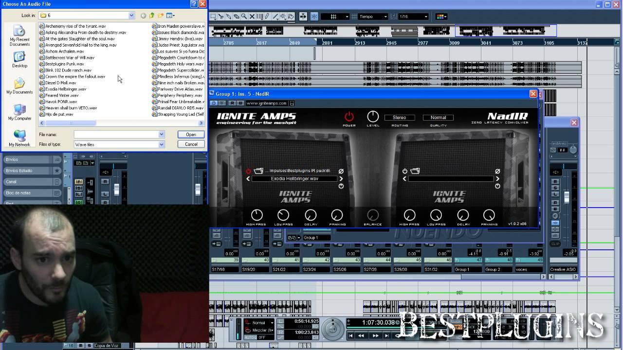 NadIR - freeware guitar impulse loader from IGNITE AMPS