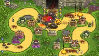Play Online Kingdom Rush Frontiers Game - Temple of saqra
