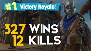 SOLO-12 KILLS 327 WINS (Fortnite Battle Royale free) [PT-BR]-Softe