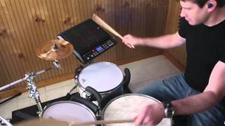 Roland BT-1 Performance Example (7) Acoustic Drums with SPD-SX & TD-30