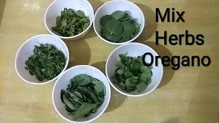 Mix Herbs Oregano Seasoning for Pizza...