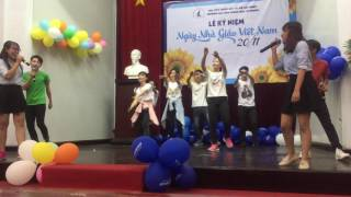 [ItusArtClub] Hát + Nhảy Shine your light (Teacher's day 20/11/2016)