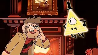 Bill Cipher and Ford Pines scene from Weirdmageddon 3 [GRAVITY FALLS FINAL]