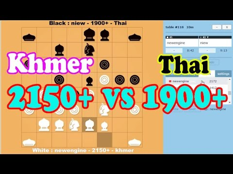 chess online -  newengine 2150+ (khmer) vs niew 1900+ (thai) did by Dit Lengleng