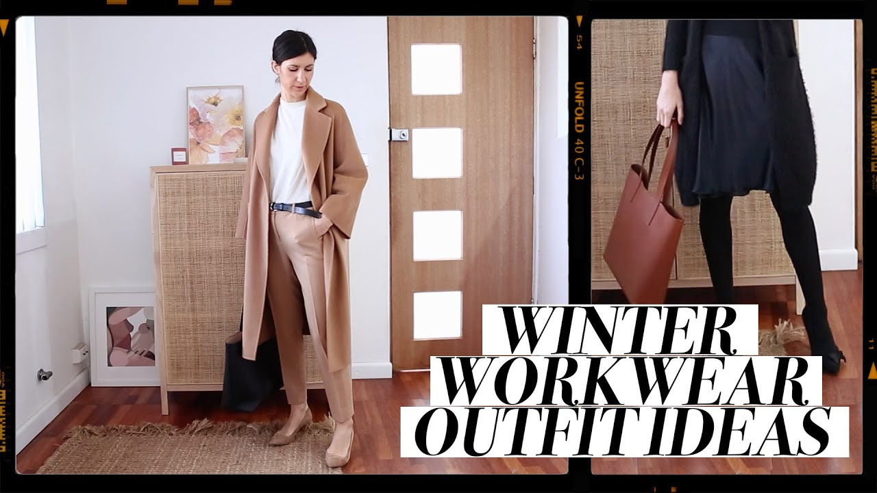 WEEK OF WINTER WORKWEAR OUTFITS - Professional Office Outfit Ideas for Winter | Mademoiselle 8