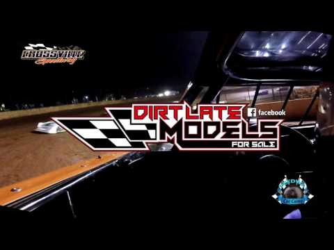 #SP3 Todd Gregory - Sportsman - 5-19-17 Crossville Speedway - In-Car Camera