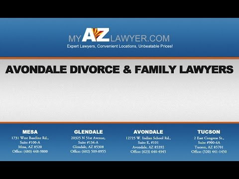 Avondale Divorce and Family Lawyers | My AZ Lawyers