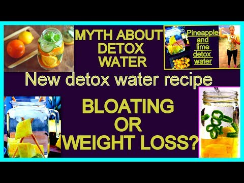 Detox Water: आसानी से वज़न घटाये PineApple के साथ | Quick Weight Loss with PineApple Detox Water
