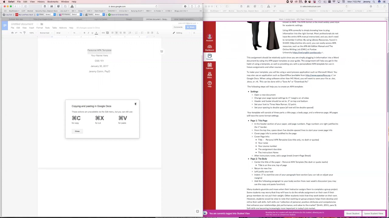 Apa template on google docs youtube apa template on google docs pronofoot35fo Images