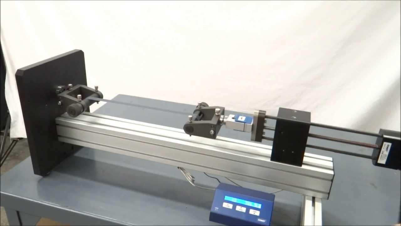 tension test on admet ex5m manual test machine