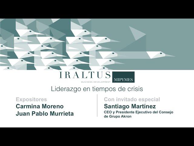 Webinar: Liderazgo en tiempos de crisis