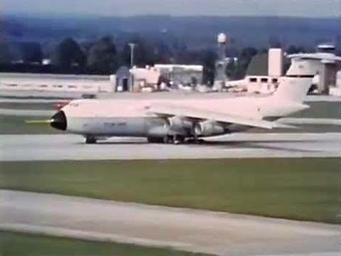 C-5 Galaxy maiden flight
