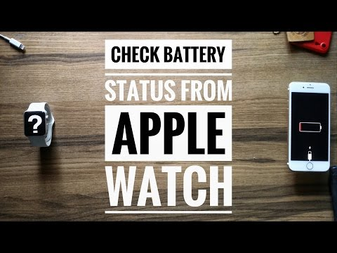 How To Check Iphone Battery Status From Apple Watch?