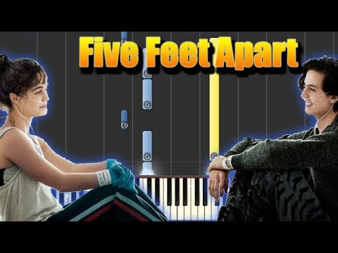 🎵 Don't Give Up On Me - Five Feet Apart [Piano Tutorial] - YouTube